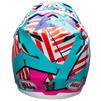 Bell Moto-9 Tagger Trouble Motocross Helmet Thumbnail 6