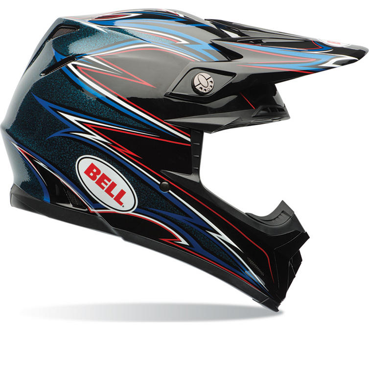 Bell Moto-9 Airtrix Shards Motocross Helmet
