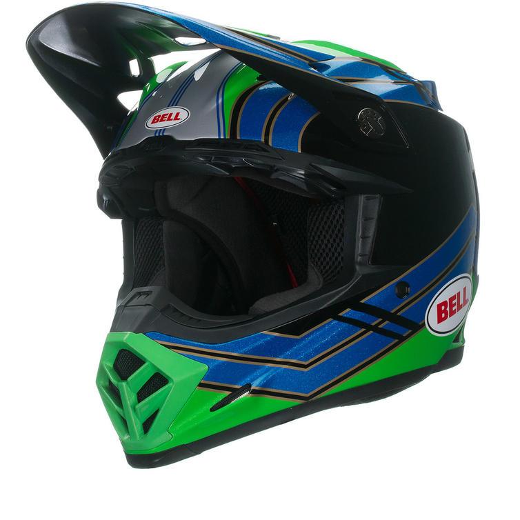 Bell Moto-9 Airtrix Stance Motocross Helmet