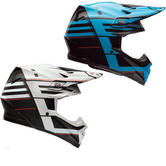Bell Moto-9 Carbon Flex Blocked Motocross Helmet