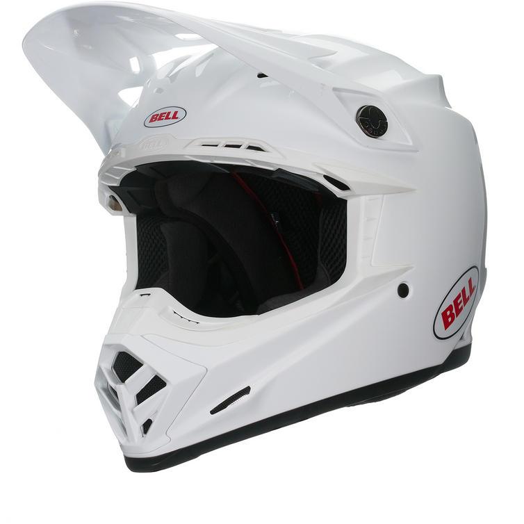 Bell Moto-9 Carbon Flex Solid Motocross Helmet