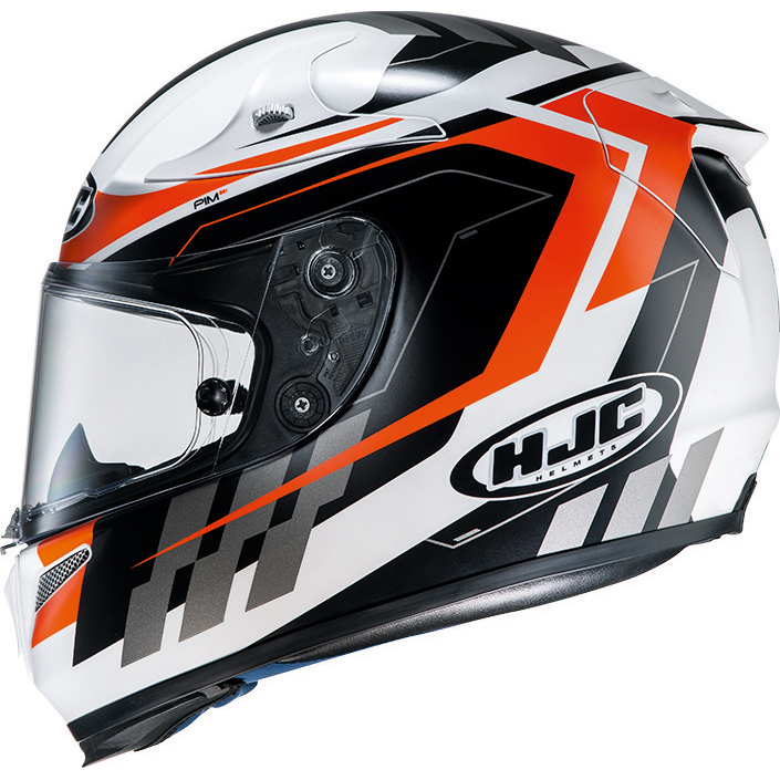 hjc rpha10 plus cyper orange full face motorcycle helmet. Black Bedroom Furniture Sets. Home Design Ideas