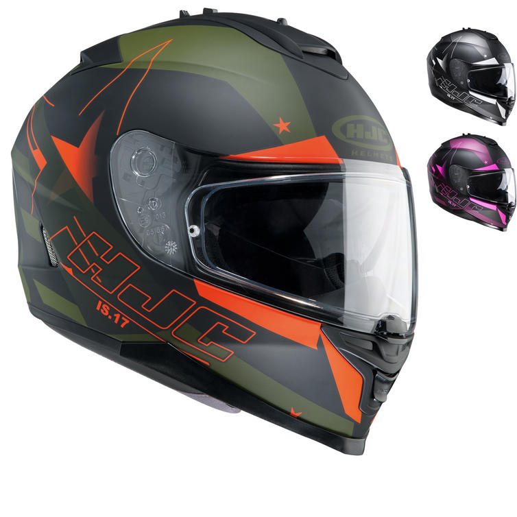 HJC IS-17 Armada Motorcycle Helmet