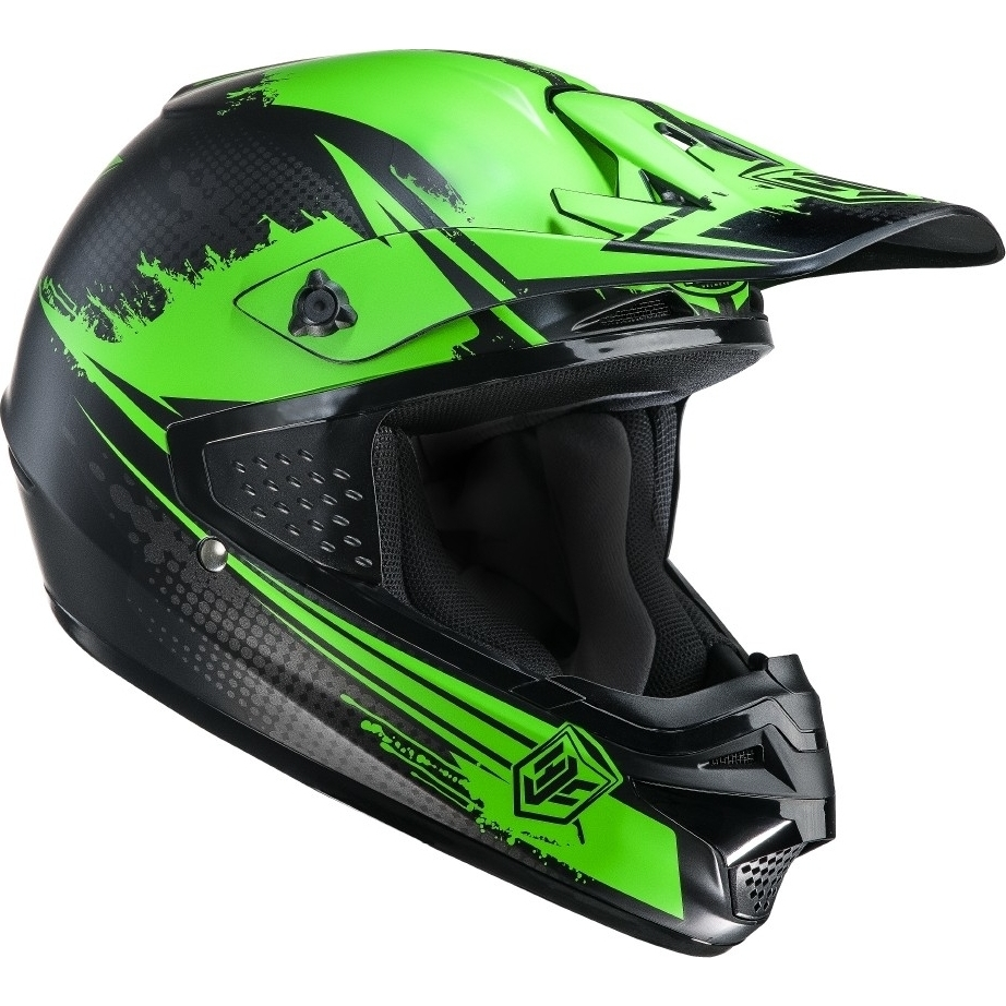 HJC-CS-MX-Zealot-Green-Motocross-Helmet-Sports-Race-Cross-MotoX-Moto-X ...