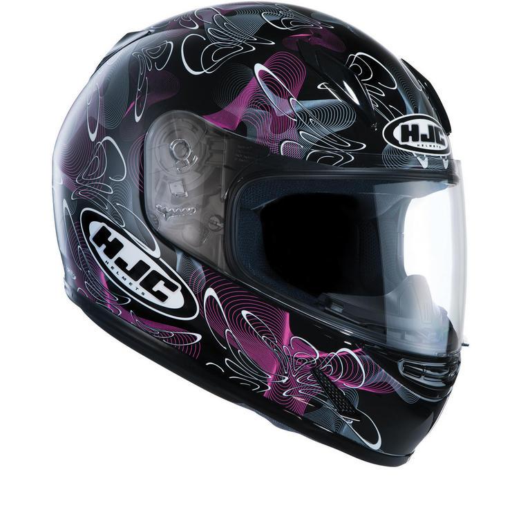 Image of HJC CL-Y Tableau Ladies Motorcycle Helmet