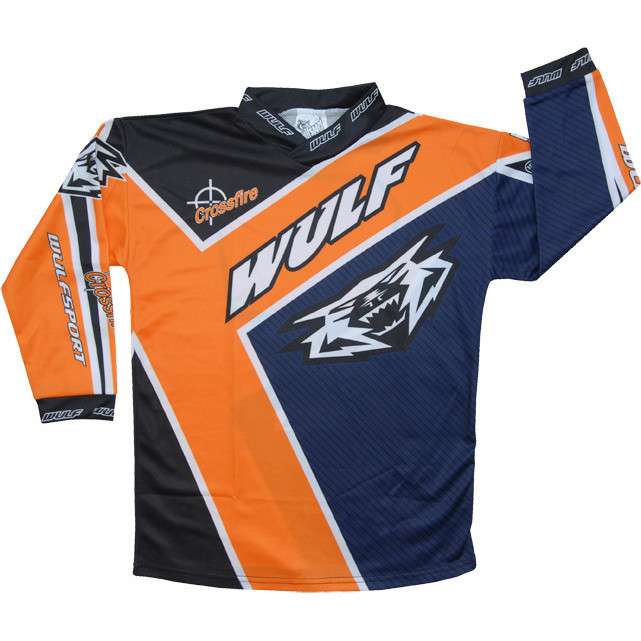 Wulf crossfire cub motocross jersey mx enduro top for Top recambios profesional