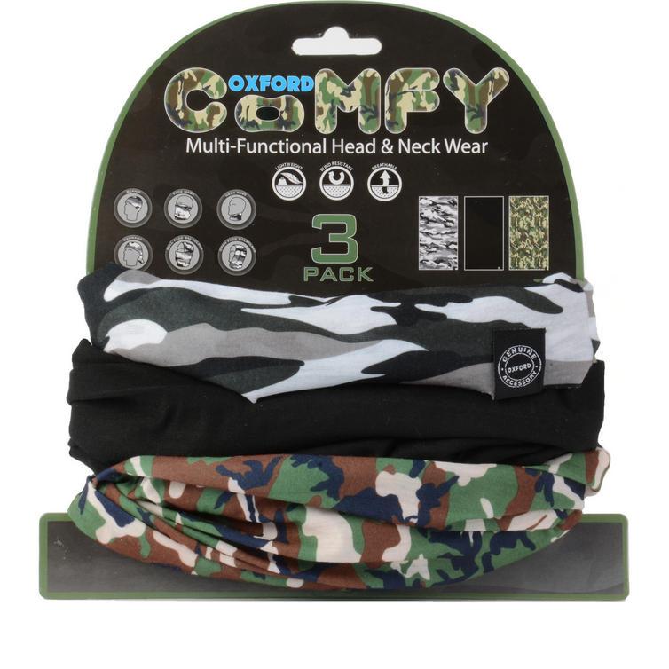 Oxford Comfy Camo 3 Pack