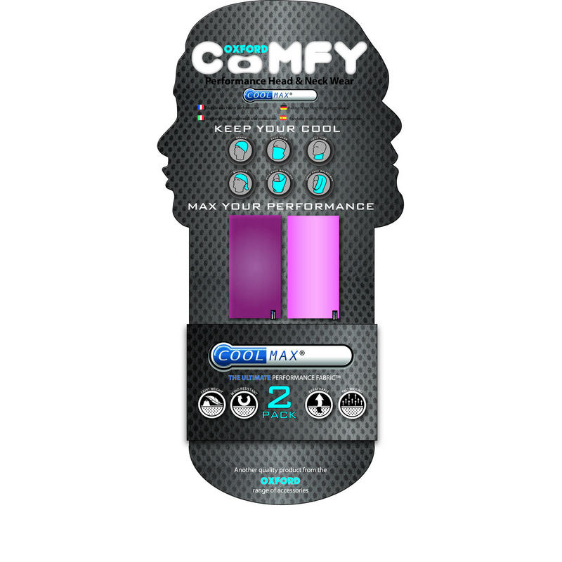 Oxford Coolmax Comfy Pink Mesh 2 Pack