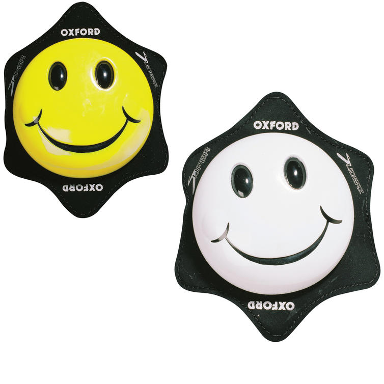Oxford Smiler Motorcycle Knee Sliders