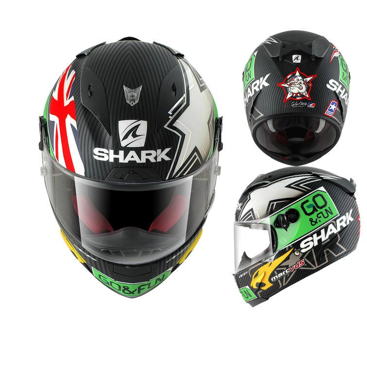 Shark Race-R Pro Carbon Redding Go & Fun Motorcycle Helmet