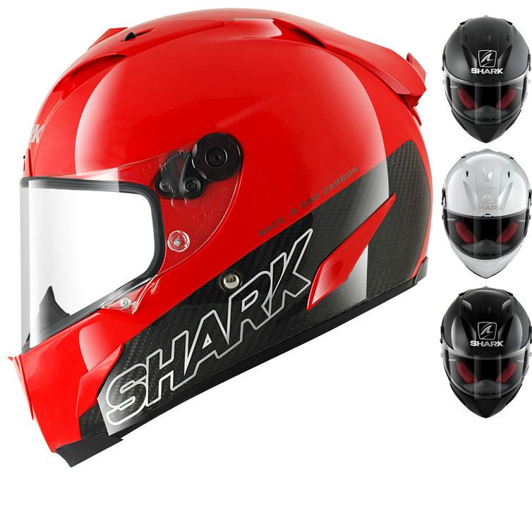 Shark Race-R Pro Carbon Blank Motorcycle Helmet