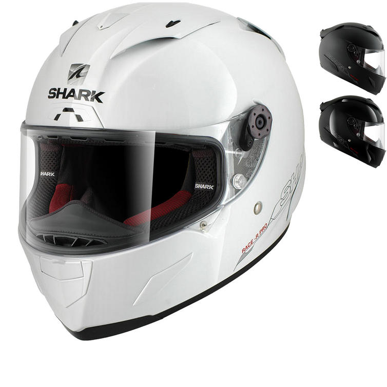 Shark Race-R Pro Blank Motorcycle Helmet
