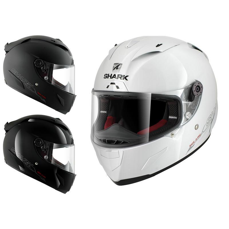 Shark Race-R Pro Blank Motorcycle Helmet