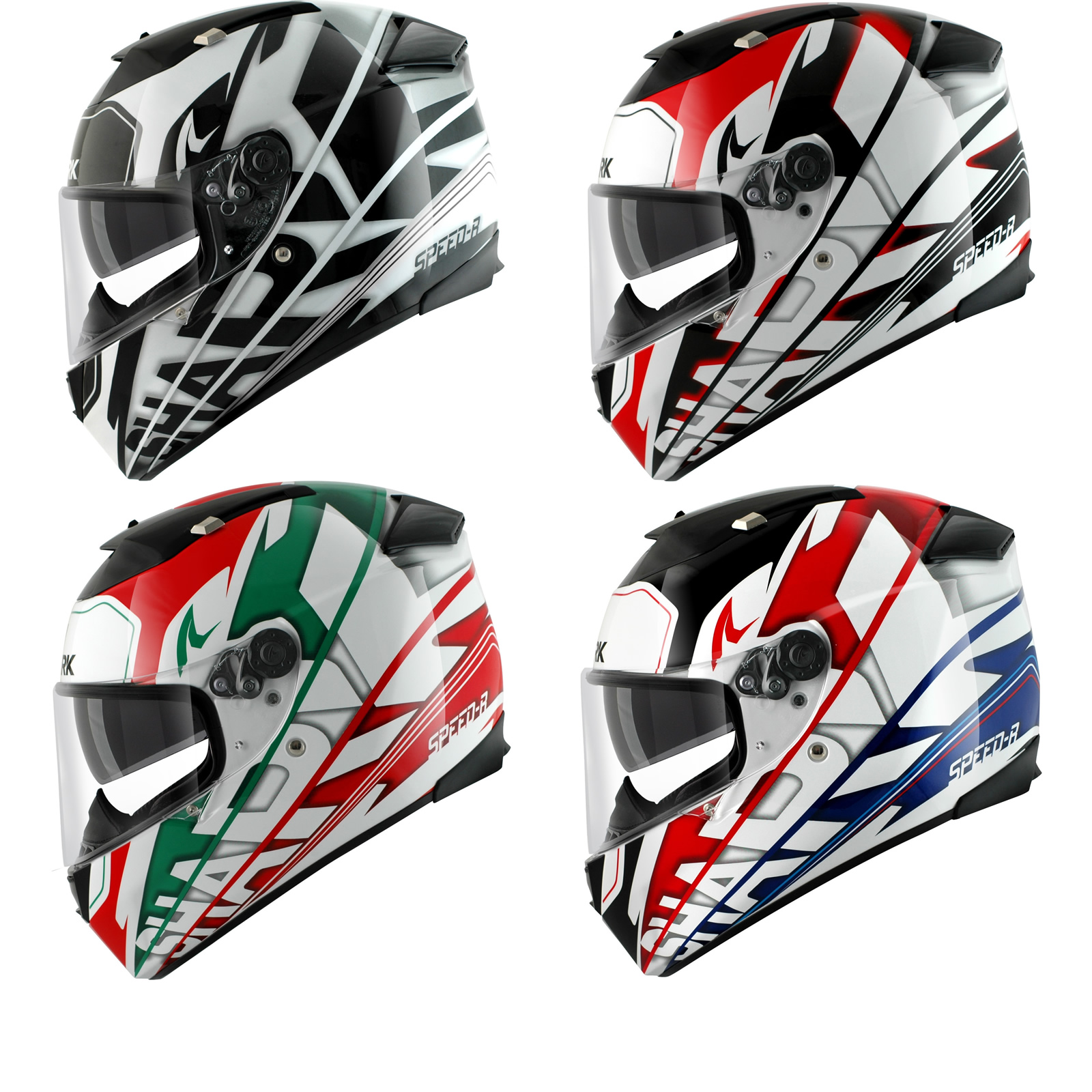 shark speed r carbon craig full face internal sun visor racing motorcycle helmet ebay. Black Bedroom Furniture Sets. Home Design Ideas