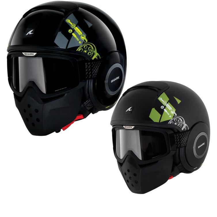 Shark Raw Kubrik Motorcycle Helmet