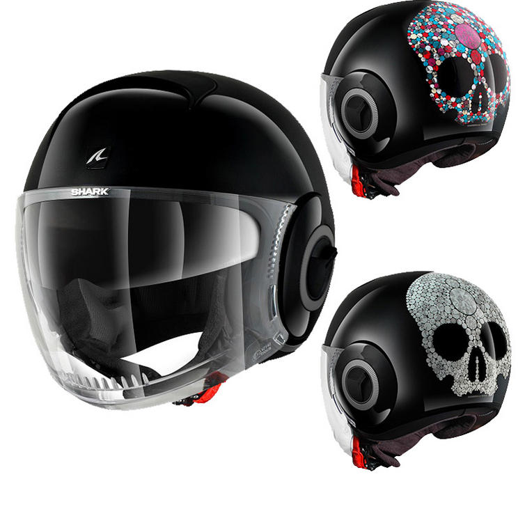 Shark Nano Jewel Motorcycle Helmet