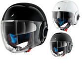Shark Nano Blank Motorcycle Helmet