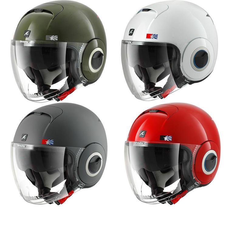 Shark Nano United Open Face Motorcycle Helmet