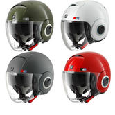 Shark Nano United Open Face Motorcycle Helmet