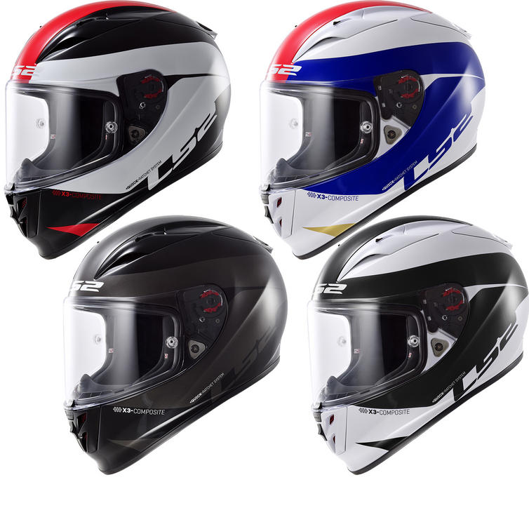 LS2 FF323 Arrow R Comet Motorcycle Helmet