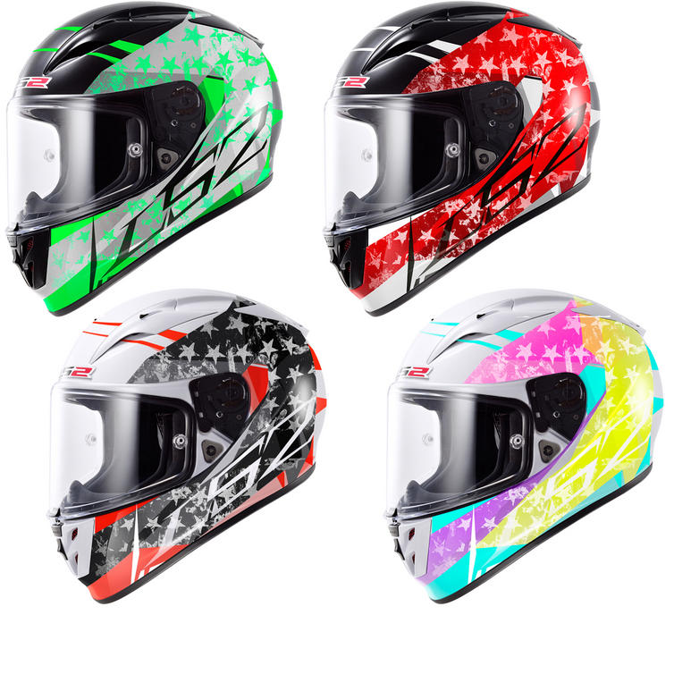 LS2 FF323 Arrow R Stride Motorcycle Helmet