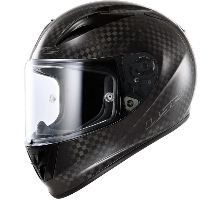 LS2 FF323 Arrow C Solid Carbon Motorcycle Helmet