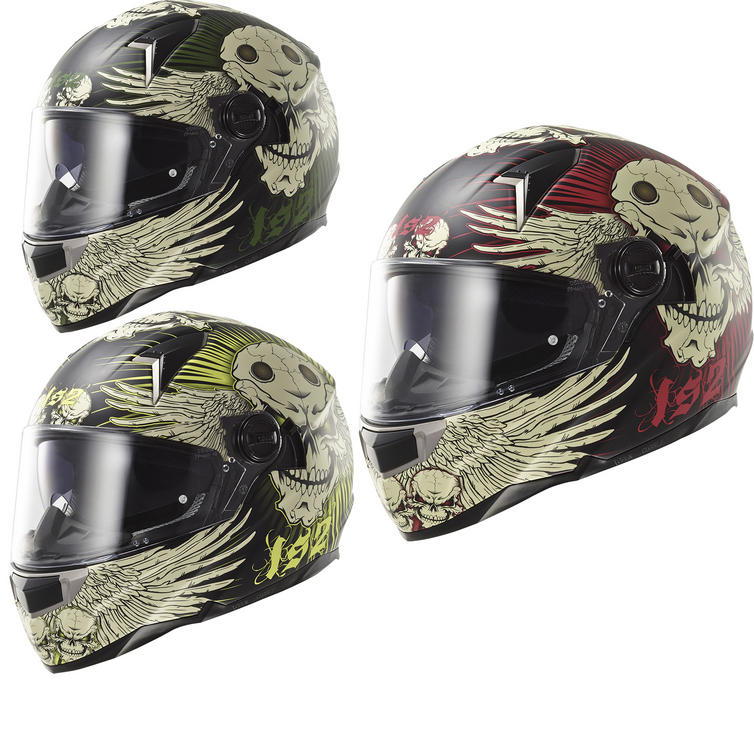 LS2 FF396 Dart FT2 Frantic Motorcycle Helmet