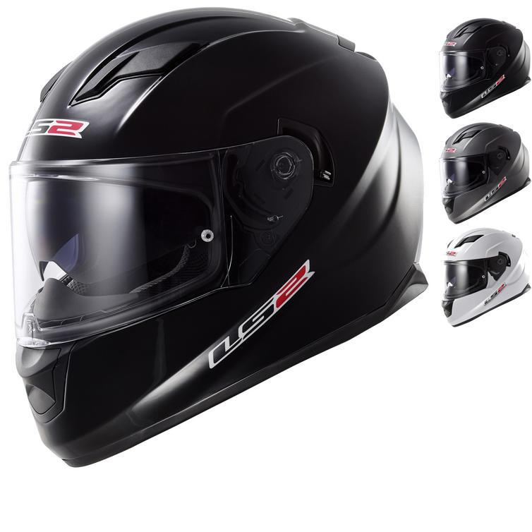 LS2 FF320 Stream Solid Motorcycle Helmet