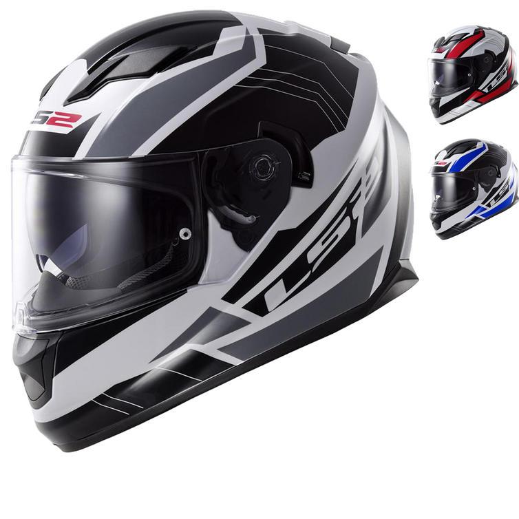 LS2 FF320 Stream Omega Motorcycle Helmet