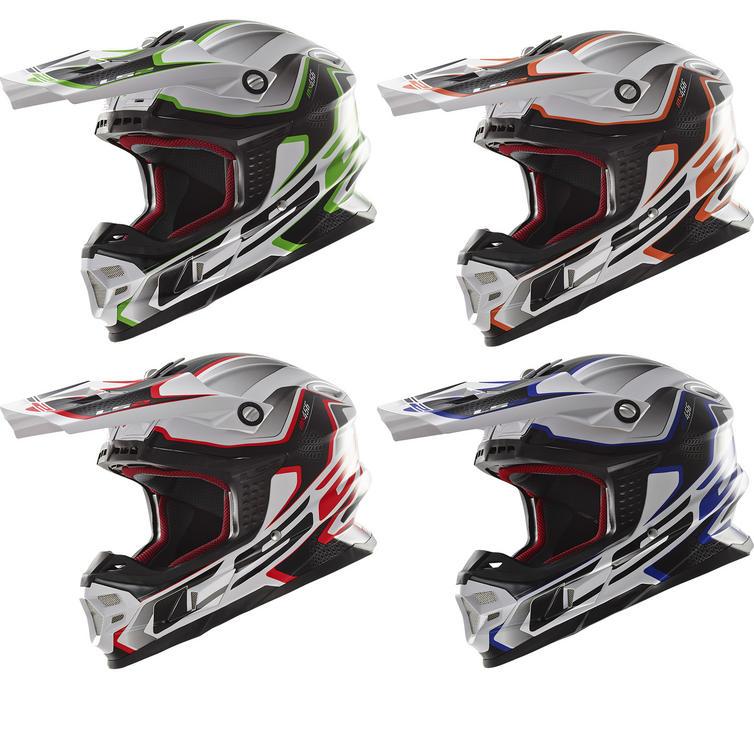 LS2 MX456 Compass Motocross Helmet
