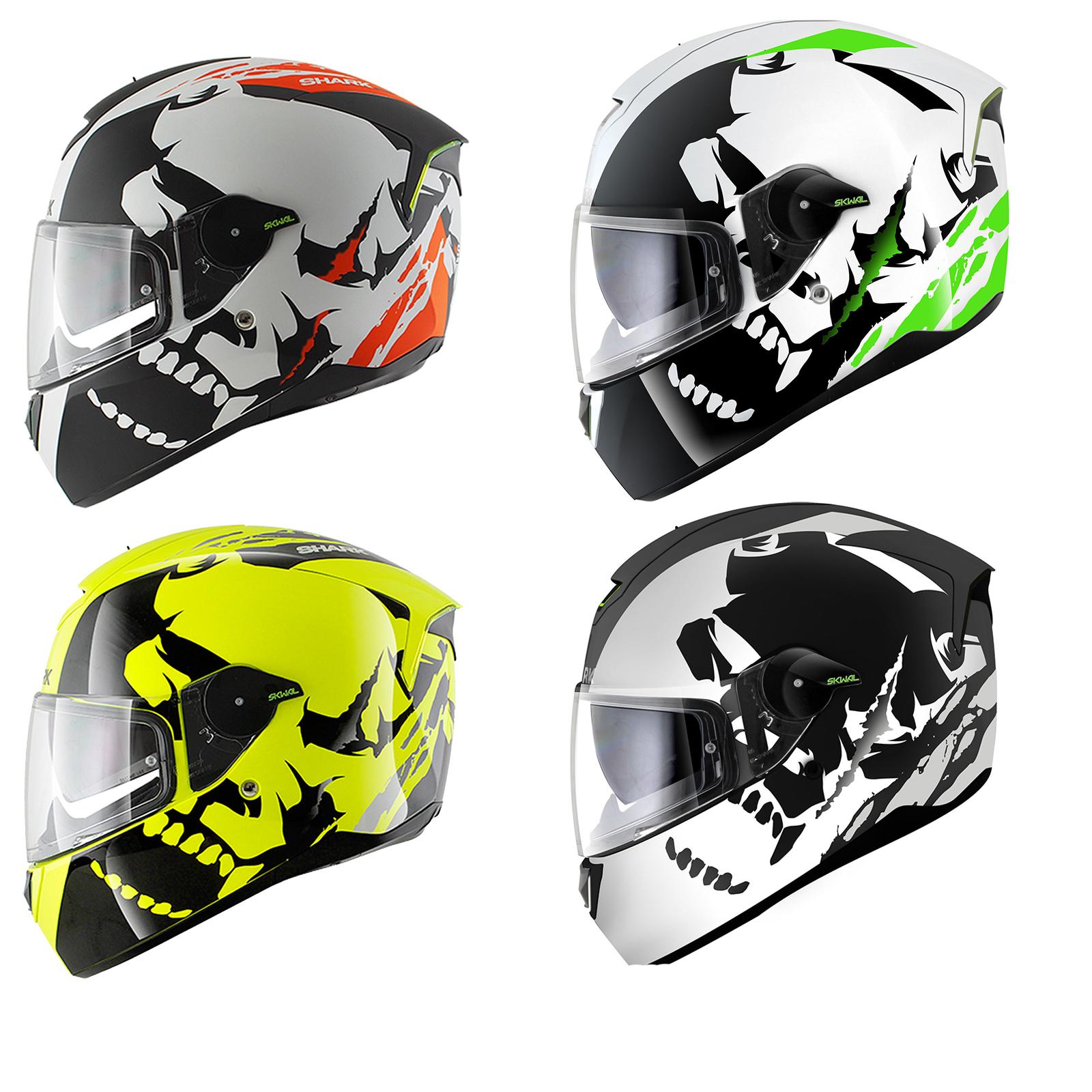 shark skwal instinct led motorcycle helmet skwal helmets. Black Bedroom Furniture Sets. Home Design Ideas