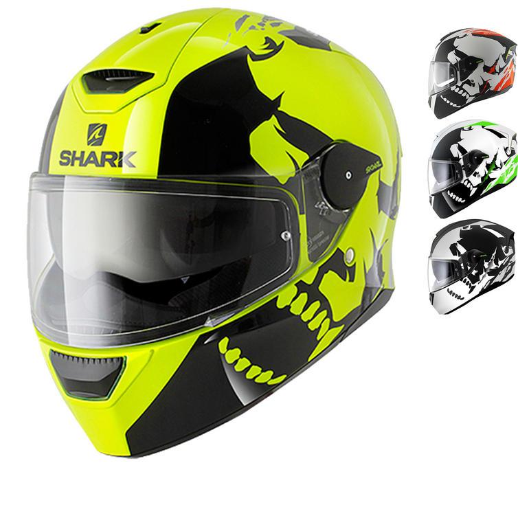 Shark SKWAL Instinct LED Motorcycle Helmet