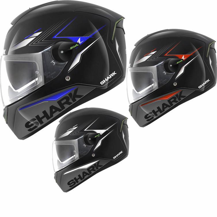 Shark SKWAL Matador LED Motorcycle Helmet