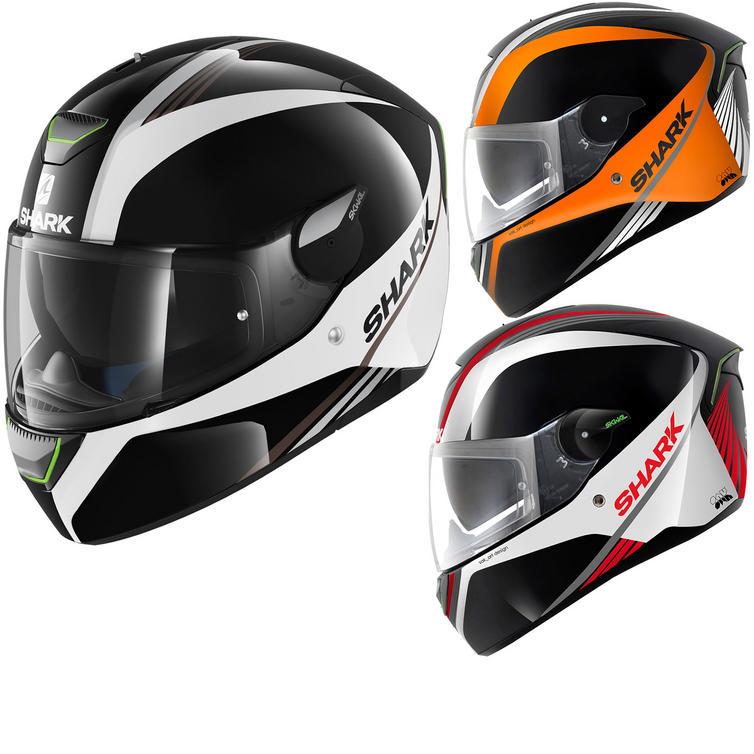 Shark SKWAL Spinax LED Motorcycle Helmet