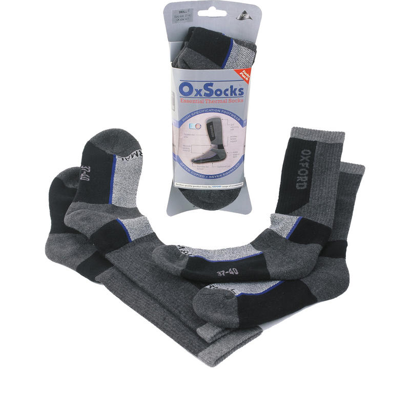 Oxford Motorcycle Long Socks Twin-Pack