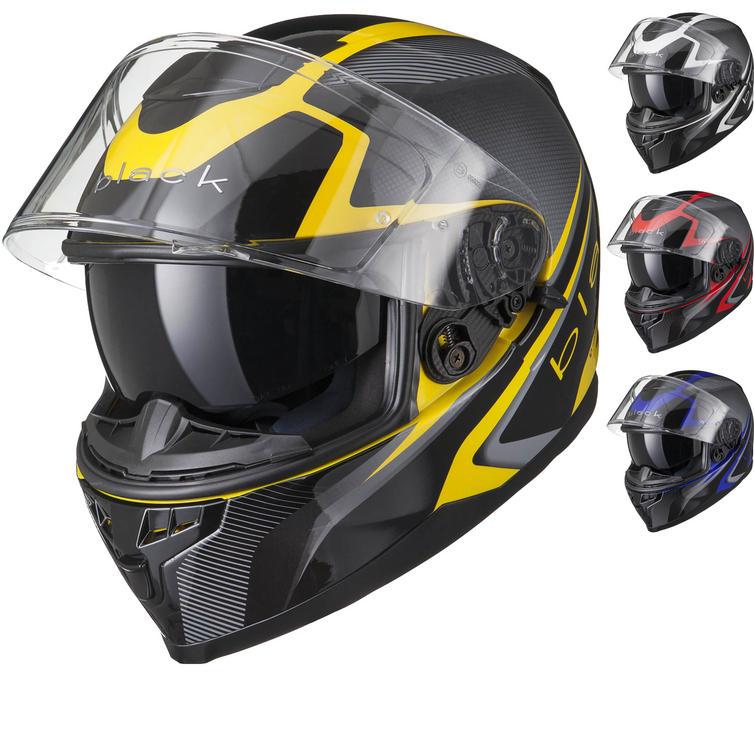 Image of Black Titan SV Edge Motorcycle Helmet