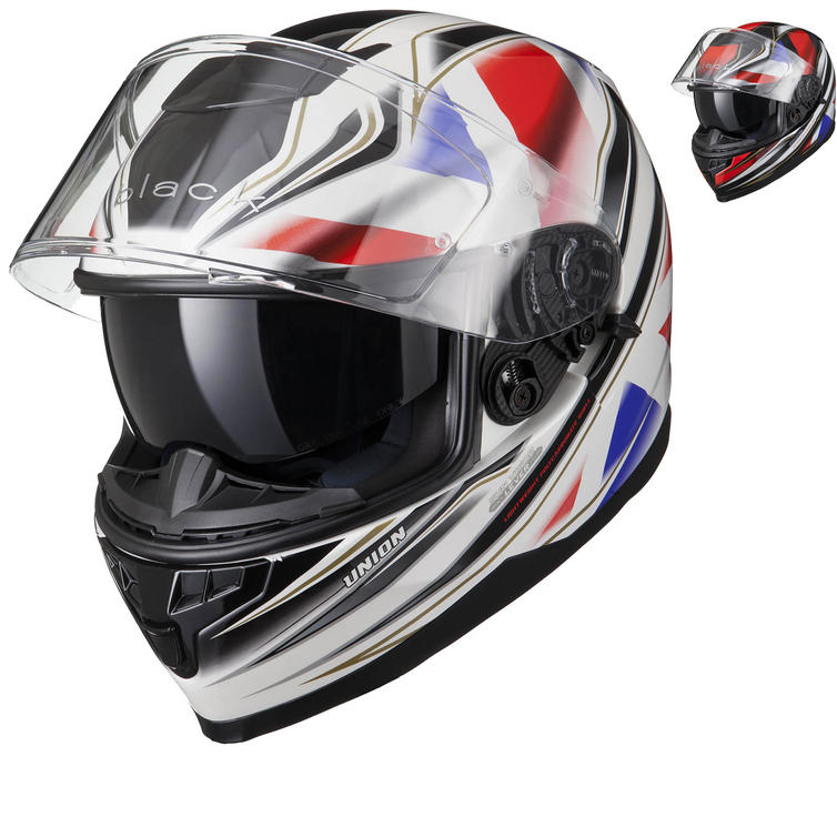 Black Titan SV Union Motorcycle Helmet