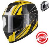 Black Titan Hornet Motorcycle Helmet