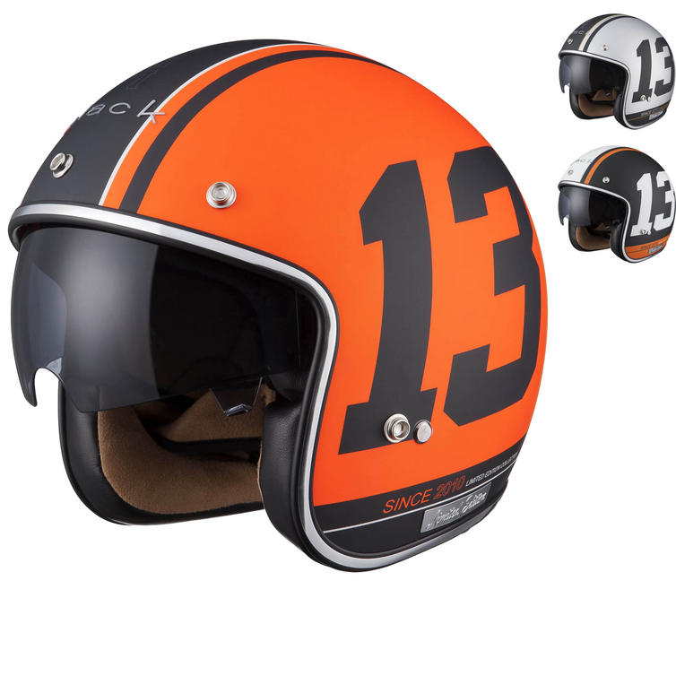 Image of Limited Edition Black 13 Motorcycle Helmet