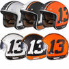 Limited Edition Black 13 Motorcycle Helmet Thumbnail 1