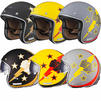 Limited Edition Black Airborne Motorcycle Helmet Thumbnail 1