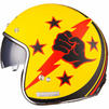Limited Edition Black Airborne Motorcycle Helmet Thumbnail 7