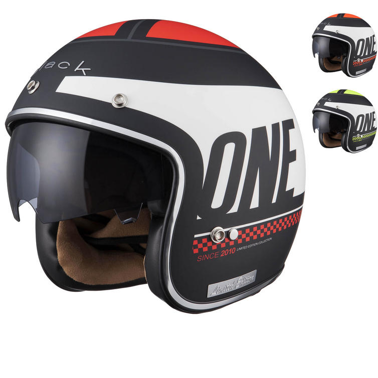 Image of Limited Edition Black One Motorcycle Helmet