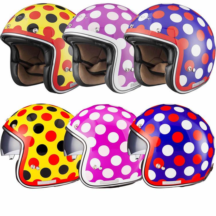 Limited Edition Black Dot Motorcycle Helmet