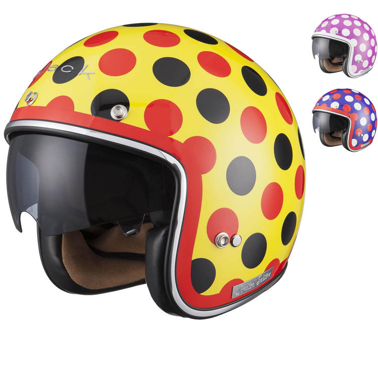 Image of Limited Edition Black Dot Motorcycle Helmet