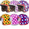 Limited Edition Black Dot Motorcycle Helmet Thumbnail 2