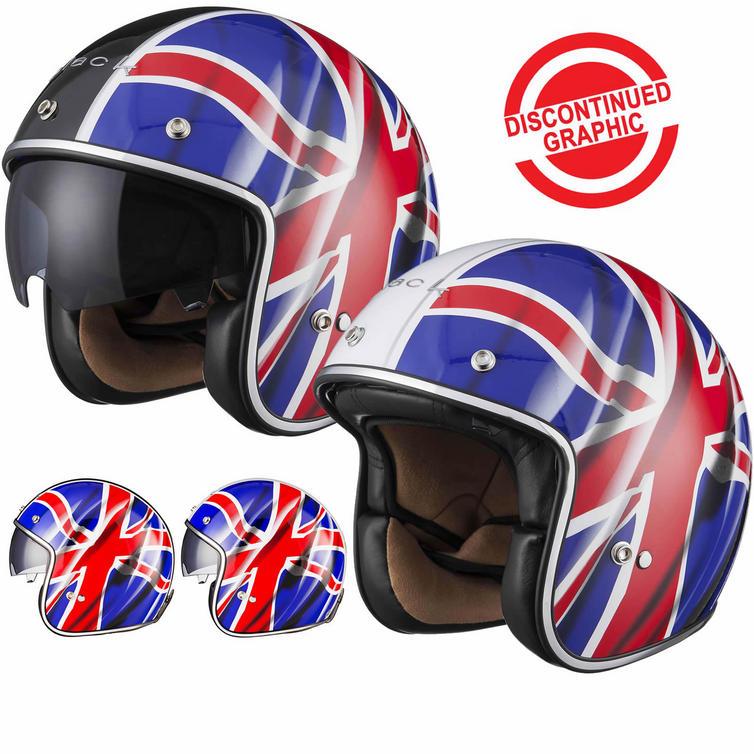 Black Classic British Open Face Helmet