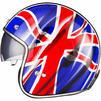 Black Classic British Open Face Helmet Thumbnail 7