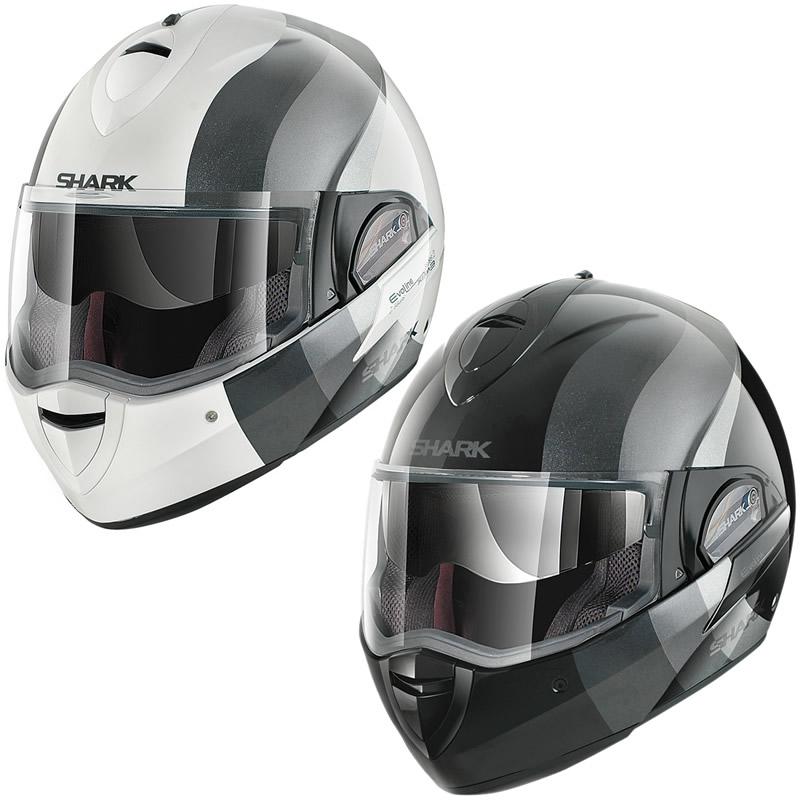 shark evoline series 2 wayer motorcycle helmet recommended. Black Bedroom Furniture Sets. Home Design Ideas