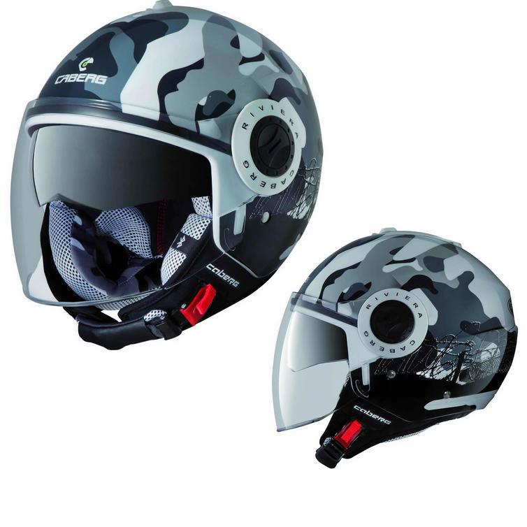 Caberg Riviera V2+ Commander Open Face Motorcycle Helmet